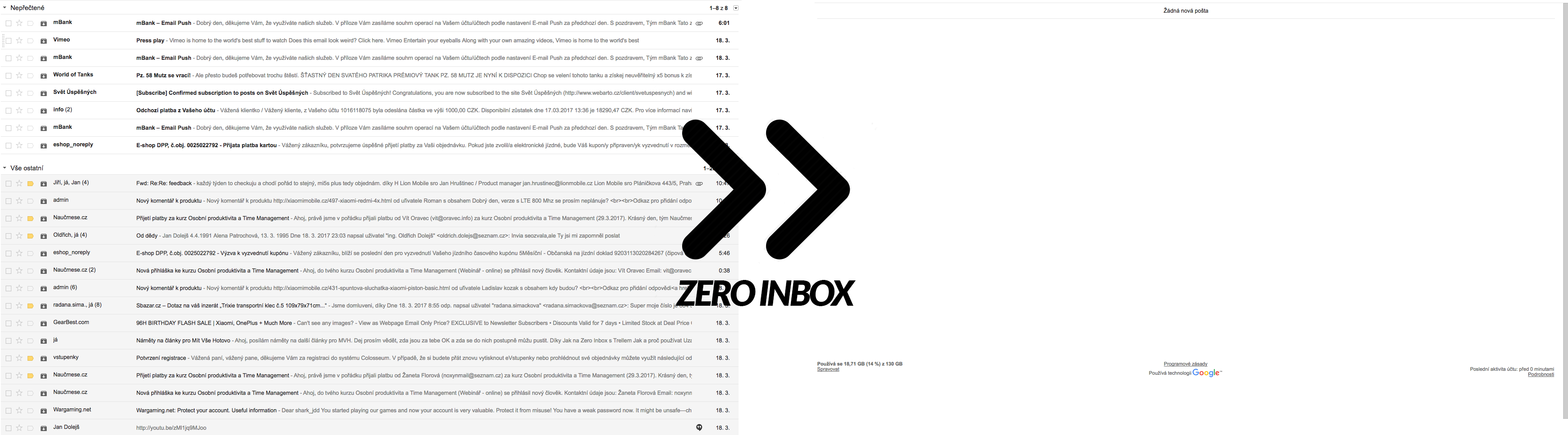 Zero Inbox - GMail